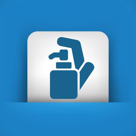 disinfectant: Soap dispenser Illustration