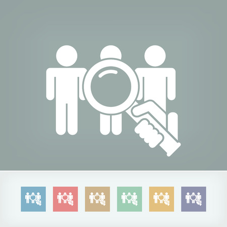 People selection Vector
