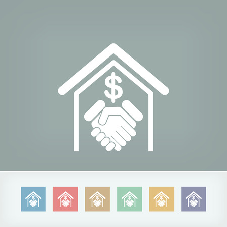 extortion: Banking agreement icon