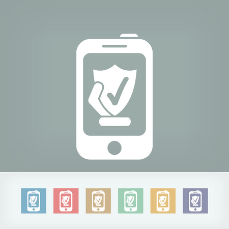 Smartphone protection Vector