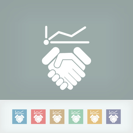 Business increase icon Vector