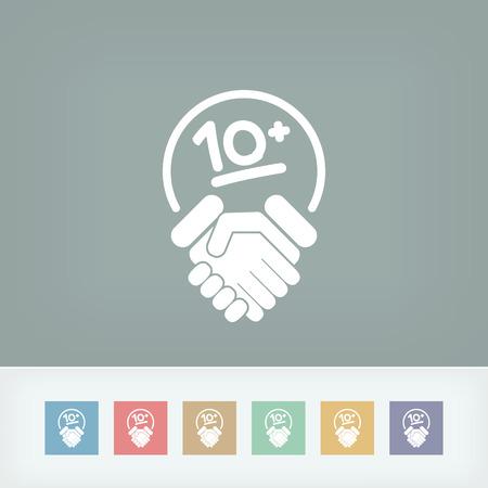 Handshake for maximum results Vector