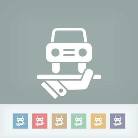 Car services icon Vector