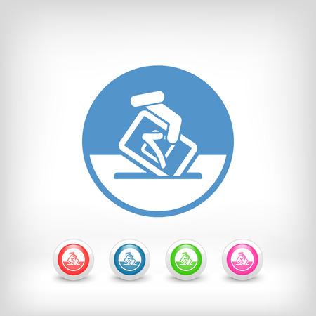 Vote symbol icon