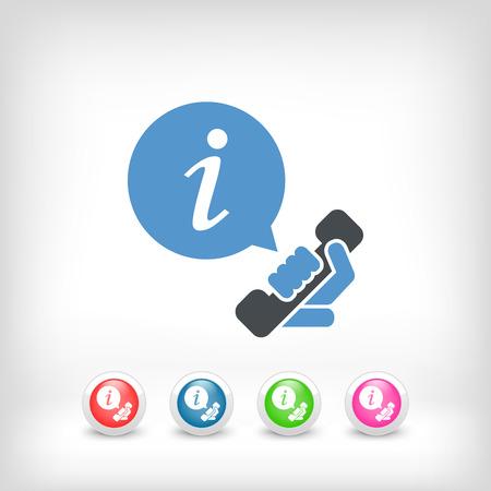 Infoline icon Stock Vector - 28200489