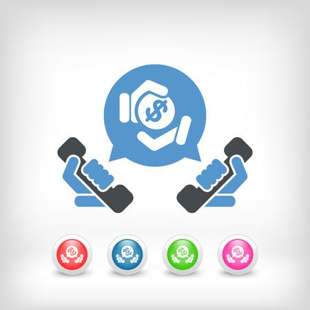 phone money: Tel�fono y dinero