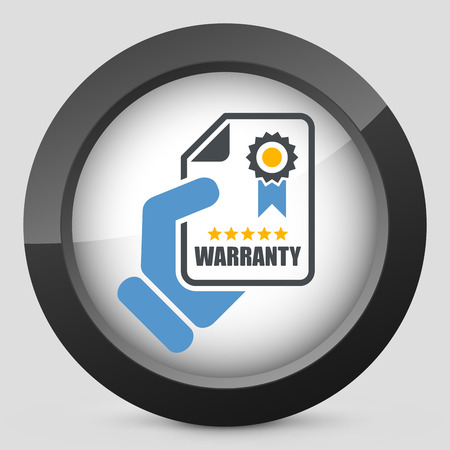 Warranty icon Stock fotó - 28200500