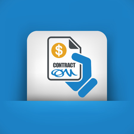 Payment contract Illustration