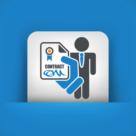 job icon: Employment contract