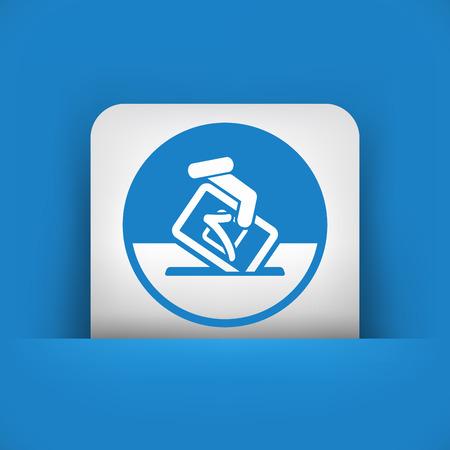 electorate: Vote symbol icon