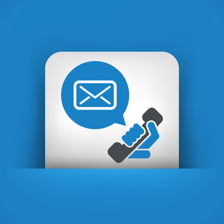 sender: Answering machine icon