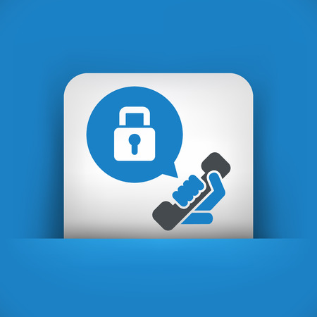 interception: Phone conversation locked