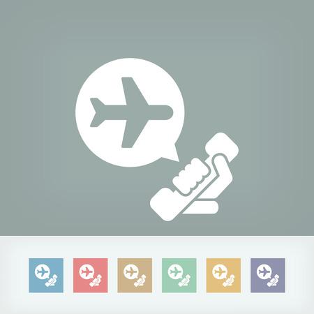 Airport infoline Vector