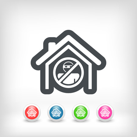 House protection icon Vector