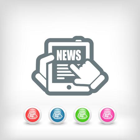 News tablet website