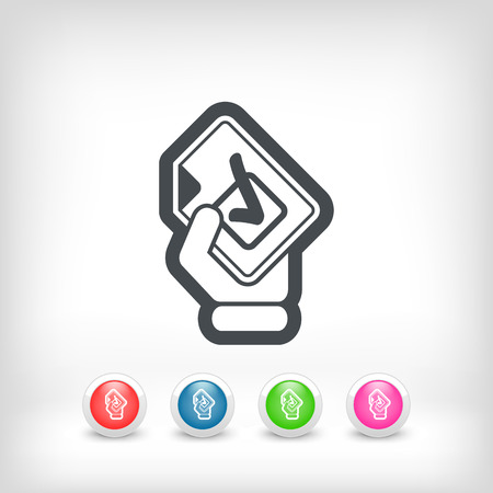 Mark choice icon Vector
