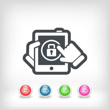 authenticate: Device password Illustration