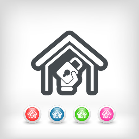 House protection Vector