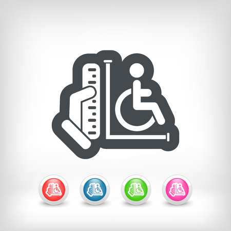 Disabled access area