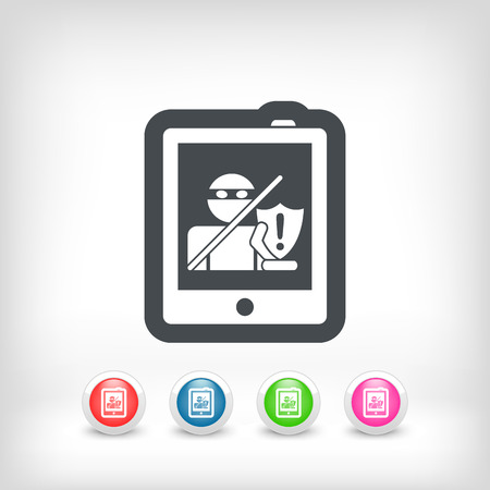 Tablet safety Vector