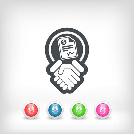 conciliation: Conciliation payment icon