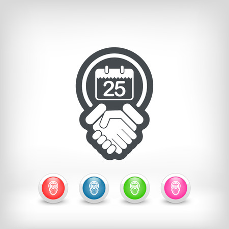 Save the date icon Vector