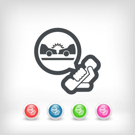 roadside assistance: Roadside assistance Illustration