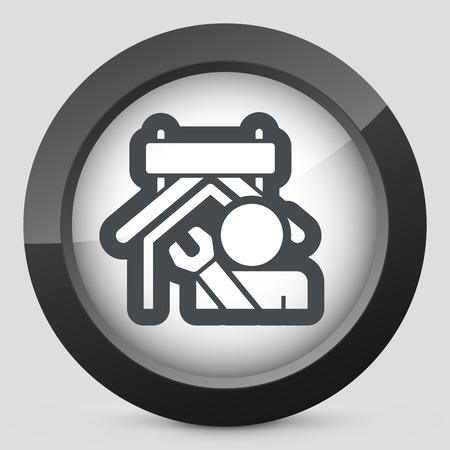 manufactory: Industry concept icon Illustration