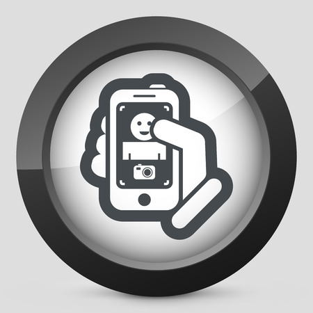 Digital photo concept Stock Vector - 28198768
