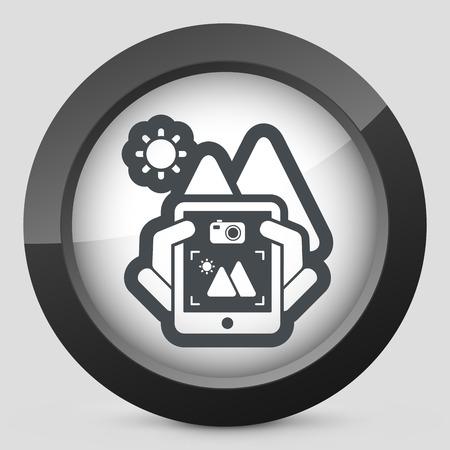 videomaker: Landscape digital photo