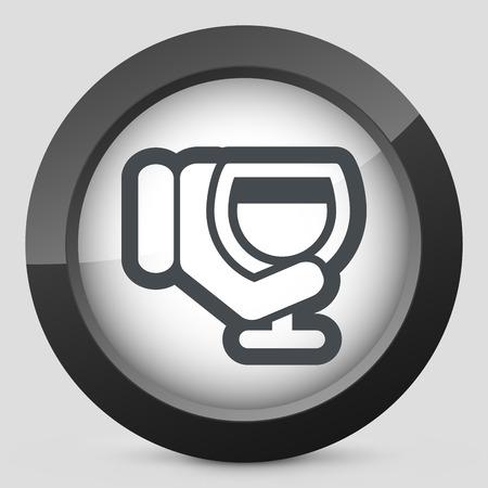 sommelier: Icono del vidrio de vino