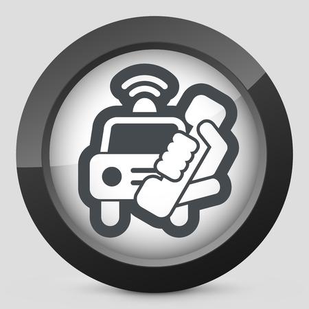 emergency call: Emergency call Illustration