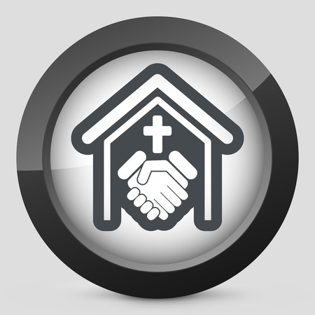 Religious relationship Vector