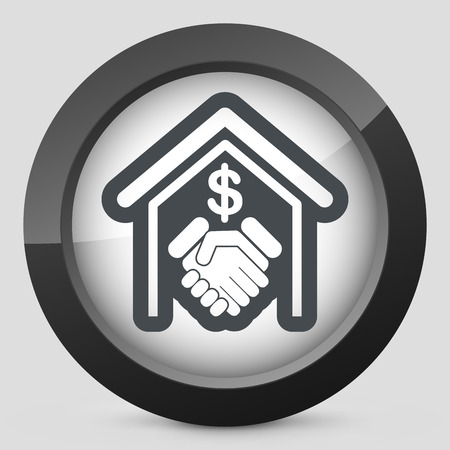tax policy: Banking agreement icon