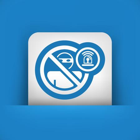 accessing: Icono de alarma Thief Vectores