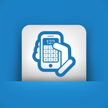 dialing: Call phone icon
