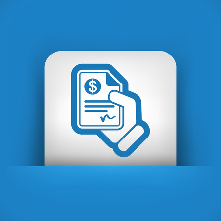 Payment document Vector