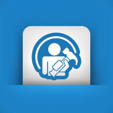bricolage: Worker icon