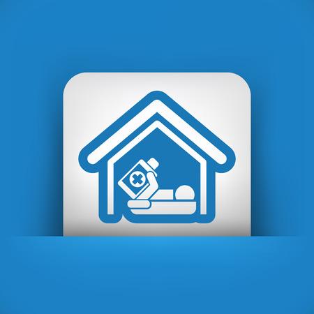 hospitalization: Hospitalization icon