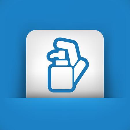 skin infections: Dispensador de jab�n