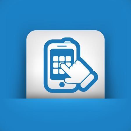 Smartphone call Vector