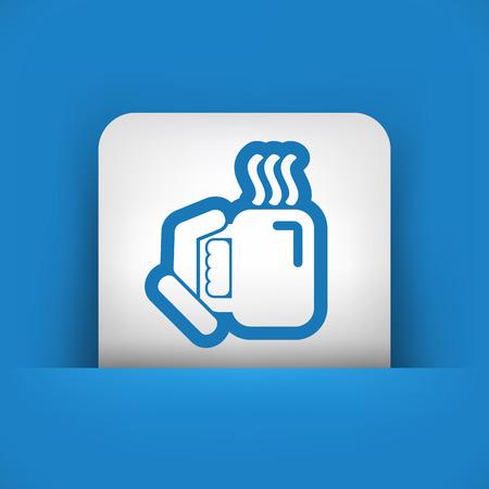 chamomile tea: Warm beverage Illustration