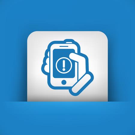 fatal error: Alert mobile device