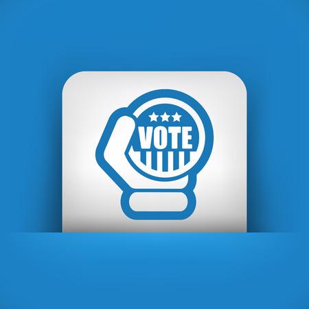 senate: Vote icon