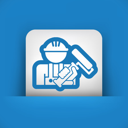 distemper: Worker icon
