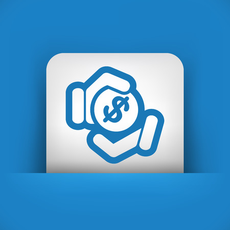 altruism: Payment icon Illustration