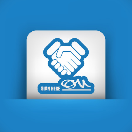 conciliation: Sign on agreement document