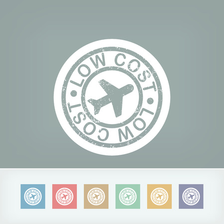 cartel: Lowcost airline icon