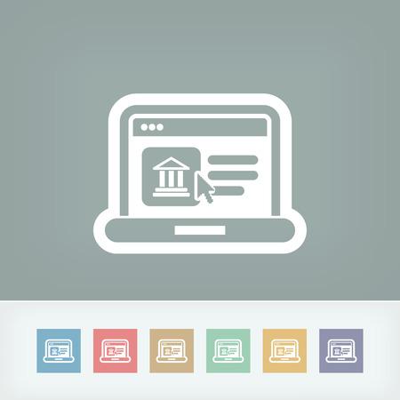 antiquities: Historical website icon