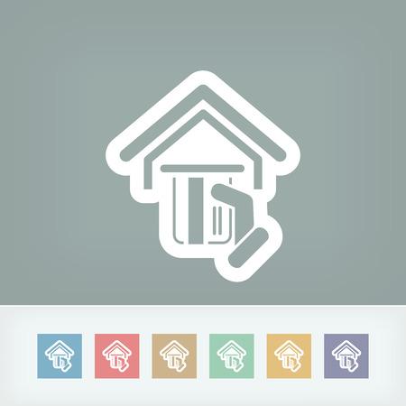 pos: Pos concept icon